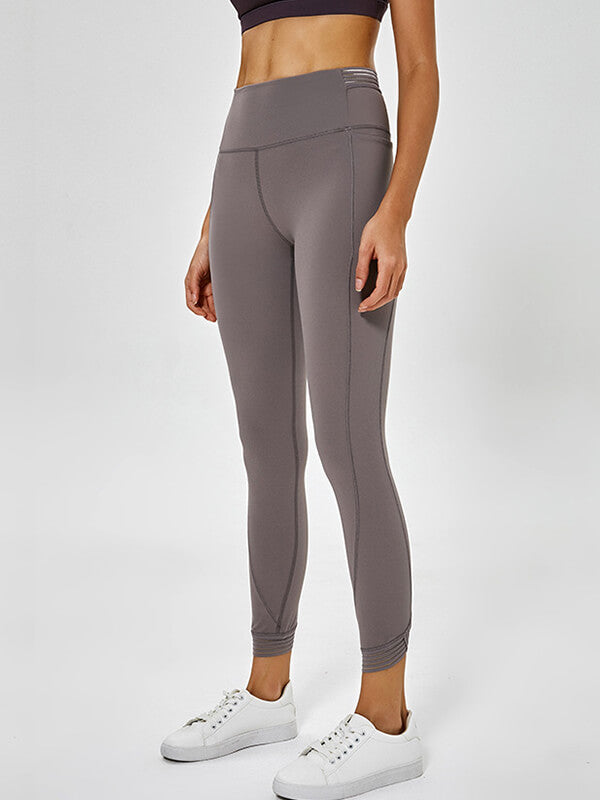 LikeBunny Sweety High-Rise Sports Leggings with Pocket 28""