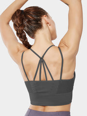 LikeBunny Little Goal Medium Impact Sports Bra