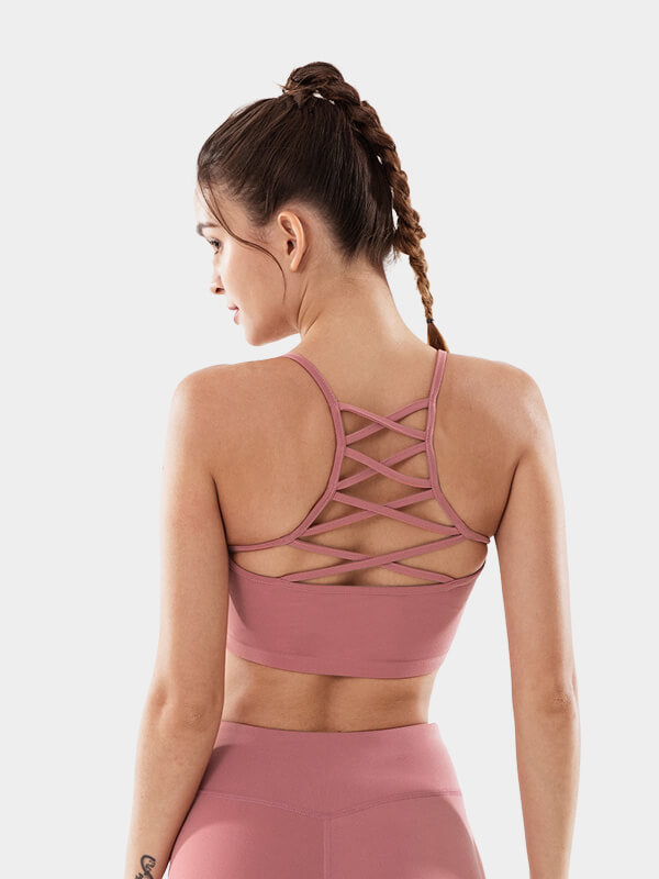 LikeBunny Alpine Air Sports Bra