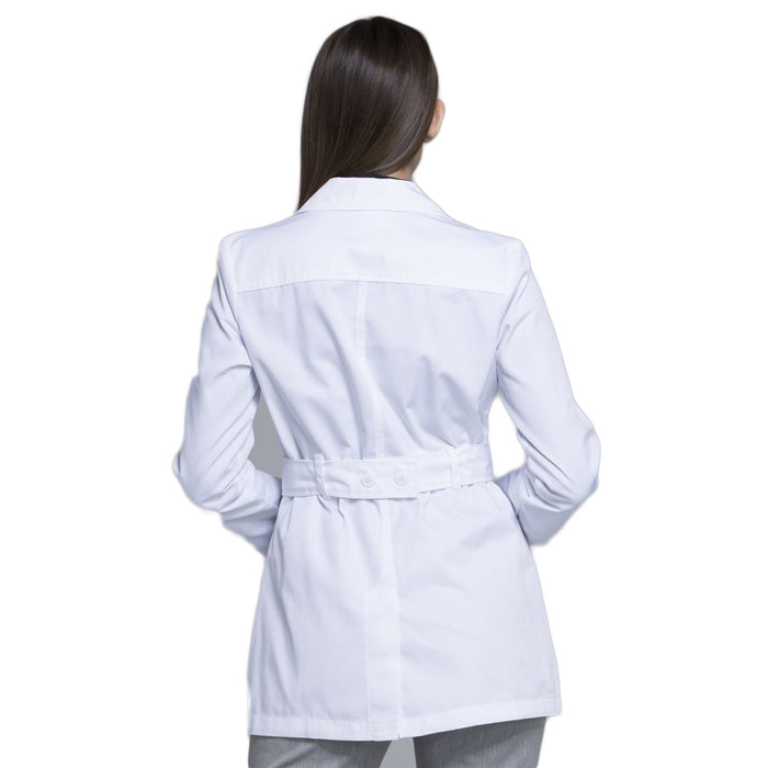 "Cherokee Fashion White Lab Coat 2316 Lab Coat Women's 30"" White 3XL"