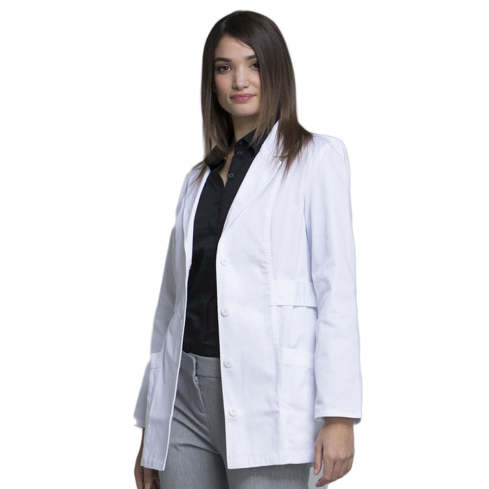 "Cherokee Fashion White Lab Coat 2316 Lab Coat Women's 30"" White L"