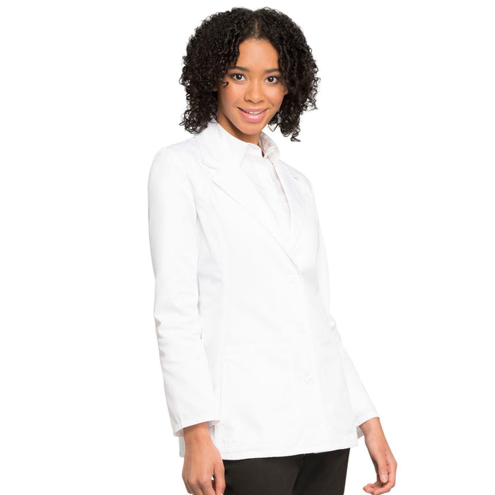 "Cherokee Fashion White Lab Coat 2317 Lab Coat Women's 28"" White 3XL"