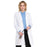 "Cherokee Workwear Professionals 2319 Lab Coat Women's 36"" White"