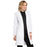 "Cherokee Workwear Professionals 2411 Lab Coat Women's 37"" White L"