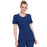 Cherokee Infinity 2624A Scrubs Top Women's Round Neck Navy