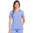 Cherokee Infinity 2625A Scrubs Top Women's Mock Wrap Ciel Blue