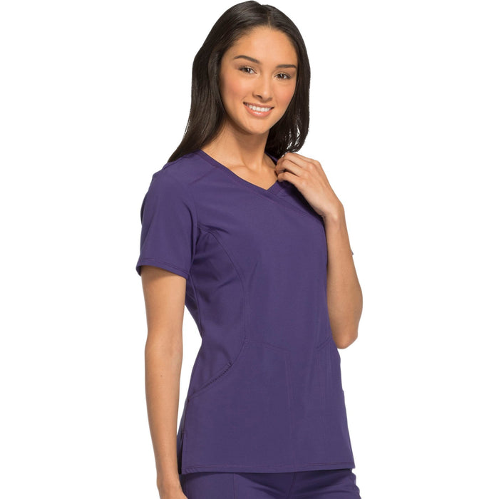 Cherokee Infinity 2625A Scrubs Top Women's Mock Wrap Grape 4XL