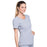 Cherokee Infinity 2625A Scrubs Top Women's Mock Wrap Grey 5XL