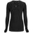 Cherokee Infinity 2626A Underscrubs Women's Long Sleeve Knit Tee Black