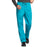 Cherokee Workwear 4000 Scrubs Pants Men's Drawstring Cargo Teal Blue