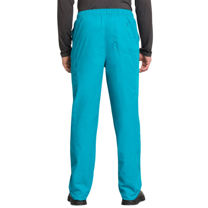 Cherokee Workwear 4000 Scrubs Pants Men's Drawstring Cargo Teal Blue 3XL