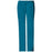 Cherokee Workwear Core Stretch 4044 Scrubs Pants Women's Mid Rise Drawstring Cargo Caribbean Blue