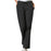 Cherokee Workwear 4101 Scrubs Pants Women's Natural Rise Flare Leg Drawstring Black