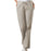 Cherokee Workwear 4101 Scrubs Pants Women's Natural Rise Flare Leg Drawstring Khaki