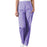 Cherokee Workwear 4200 Scrubs Pants Women's Natural Rise Tapered Pull-On Cargo Orchid