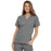 Cherokee Workwear 4700 Scrubs Top Women's V-Neck Grey