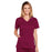 Cherokee Core Stretch 4710 Scrubs Top Women's V-Neck Wine
