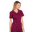 Cherokee Core Stretch 4710 Scrubs Top Women's V-Neck Wine 5XL