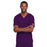 Cherokee Core Stretch 4725 Scrubs Top Unisex V-Neck Eggplant