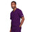Cherokee Core Stretch 4725 Scrubs Top Unisex V-Neck Eggplant 4XL