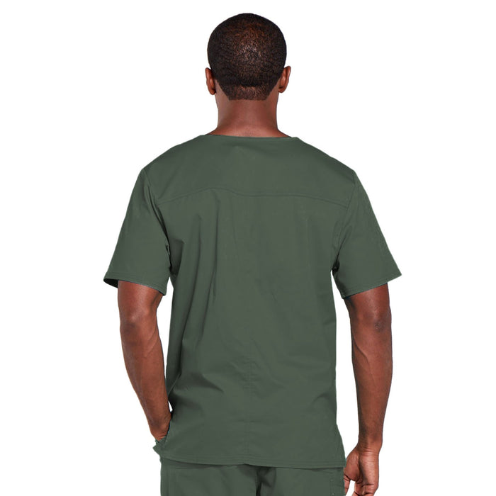 Cherokee Core Stretch 4725 Scrubs Top Unisex V-Neck Olive 3XL