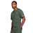 Cherokee Core Stretch 4725 Scrubs Top Unisex V-Neck Olive 4XL