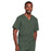 Cherokee Core Stretch 4725 Scrubs Top Unisex V-Neck Olive 5XL