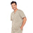 Cherokee Core Stretch 4743 Scrubs Top Men's V-Neck Khaki 3XL