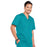 Cherokee Core Stretch 4743 Scrubs Top Men's V-Neck Teal Blue 4XL
