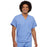 Cherokee Workwear 4777 Scrubs Top Unisex V-Neck Tunic. Ciel Blue