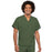Cherokee Workwear 4777 Scrubs Top Unisex V-Neck Tunic. Olive