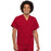 Cherokee Workwear 4777 Scrubs Top Unisex V-Neck Tunic. Red