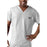 Cherokee Workwear 4789 Scrubs Top Men's V-Neck White