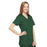 Cherokee Workwear 4801 Scrubs Top Women's Mock Wrap Tunic Hunter Green 4XL