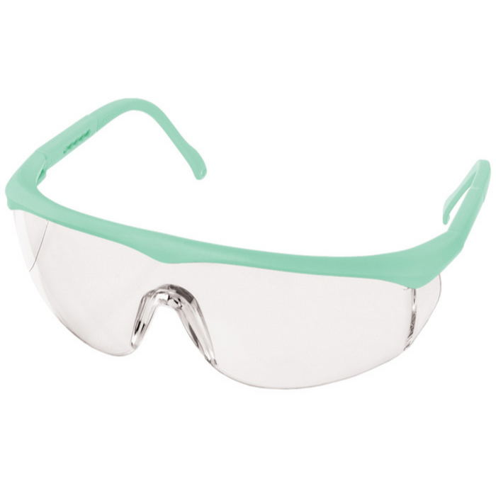 Prestige Colored Full Frame Safety Glasses Aqua Sea