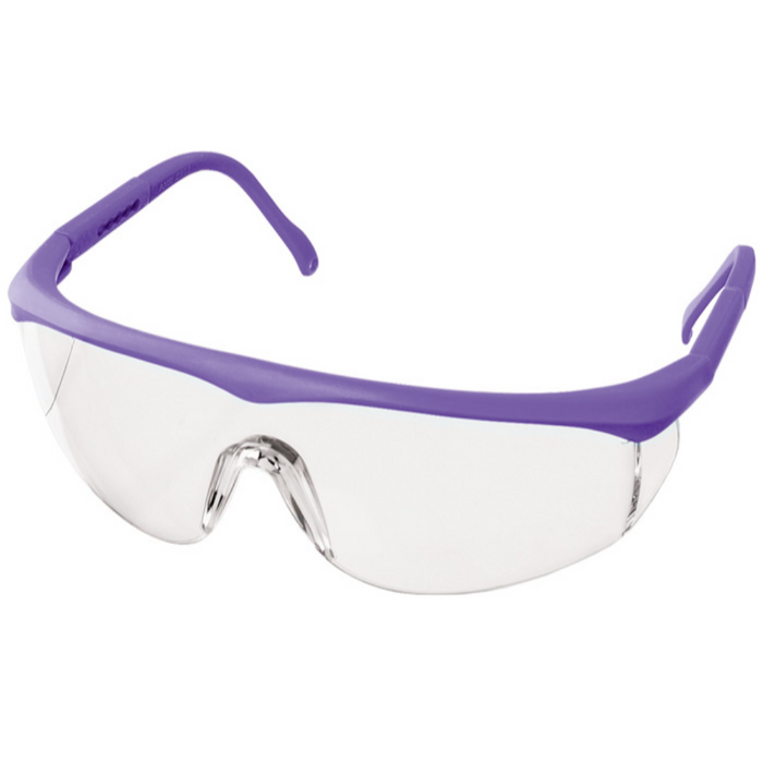 Prestige Colored Full Frame Safety Glasses Purple
