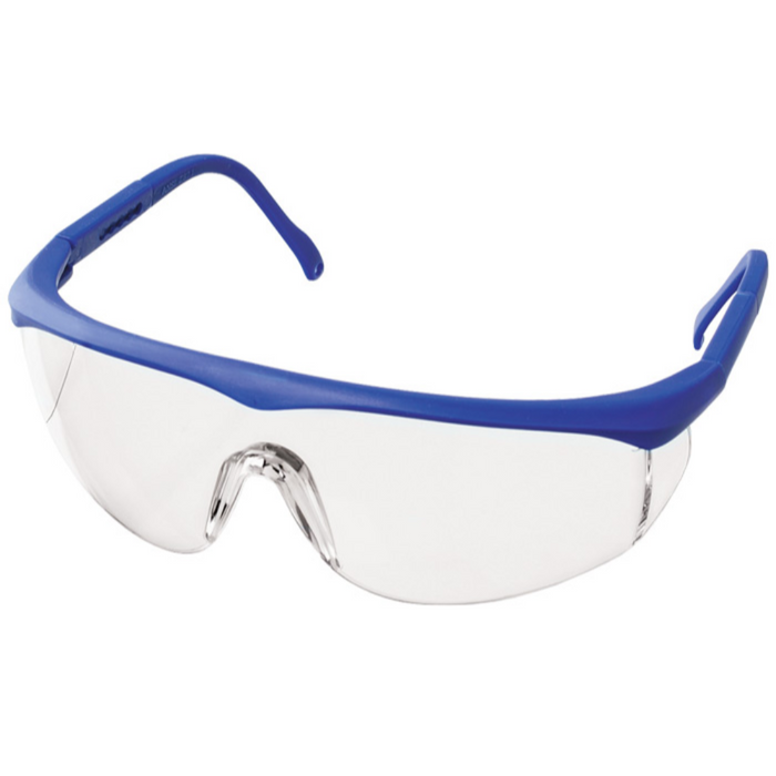 Prestige Colored Full Frame Safety Glasses Royal