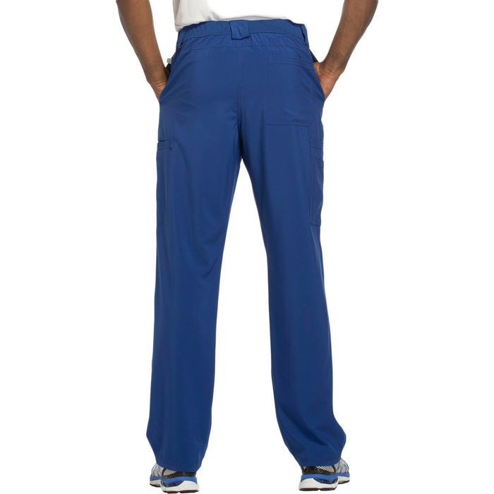 Cherokee Infinity CK200A Scrubs Pants Men's Fly Front Galaxy Blue 3XL