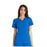 Cherokee iflex CK605 Scrubs Top Women's V-Neck Knit Panel Royal