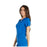 Cherokee iflex CK605 Scrubs Top Women's V-Neck Knit Panel Royal 4XL