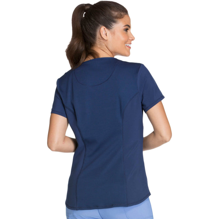 Cherokee Infinity CK623A Scrubs Top Women's V-Neck Navy 3XL