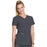 Cherokee Infinity CK623A Scrubs Top Women's V-Neck Pewter 5XL