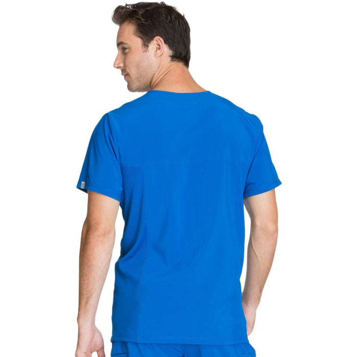 Cherokee Infinity CK900A Scrubs Top Men's V-Neck Royal 3XL