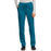 Cherokee Workwear Revolution WW105 Scrubs Pants Women's Mid Rise Tapered Leg Drawstring Caribbean Blue