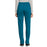 Cherokee Workwear Revolution WW105 Scrubs Pants Women's Mid Rise Tapered Leg Drawstring Caribbean Blue 3XL