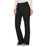 Cherokee Workwear Revolution WW110 Scrubs Pants Women's Mid Rise Straight Leg Pull-on Black 4XL