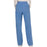 Cherokee Workwear Revolution WW110 Scrubs Pants Women's Mid Rise Straight Leg Pull-on Ciel Blue 3XL