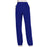 Cherokee Workwear Revolution WW110 Scrubs Pants Women's Mid Rise Straight Leg Pull-on Galaxy Blue 3XL