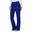 Cherokee Workwear Revolution WW110 Scrubs Pants Women's Mid Rise Straight Leg Pull-on Galaxy Blue 4XL