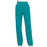 Cherokee Workwear Revolution WW110 Scrubs Pants Women's Mid Rise Straight Leg Pull-on Teal Blue 3XL